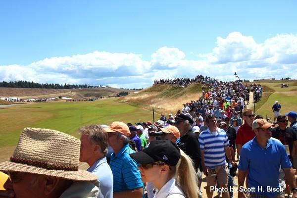 US Open crowds